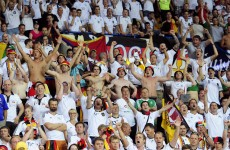 UEFA fine Germany €25,000 for unruly fans