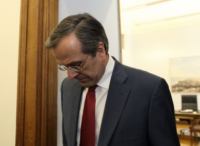 Antonis Samaras will today continue meeting with the leaders of PASOK and Democratic Left, hoping to confirm a programme for government with both.