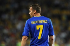 Sheva bows out: Ukraine's favourite son calls time on international career