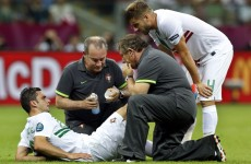 Portugal's Helder Postiga ruled out of semi-finals