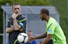 Happy camp?: Portugal play down training ground spat