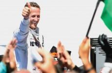 Schumacher elated to be back on podium