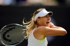 Sharapova admits beaten Hsieh drove her crazy