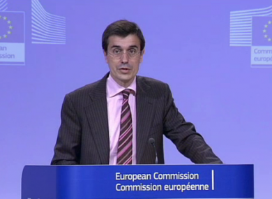 A European Commission spokesman said the publication of confidential draft documents was