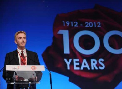 Derek Nolan gave the opening address at the Labour annual conference earlier this year.