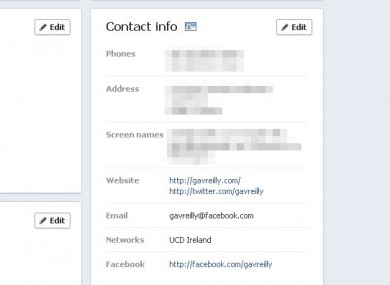 You may not have known your @facebook.com email address - but it's now the default on your profile.