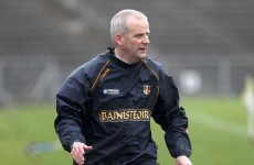 Wave goodbye: Wallace leaves Antrim post