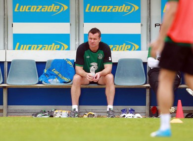 There have been concerns over Shay Given's fitness ahead of Euro 2012.