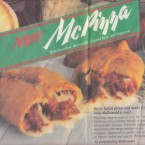 McDonald's developed new pizza items in the late 1980s in its push to start offering dinner items, but it had some inherent problems right from the get-go. The made-to-order pizza took far longer to make than the usual McDonald's fare, and consumers just weren't willing to wait for food that was supposed to be fast. There was also the McPizza, which resembled Hot Pockets and failed miserably. Competition in the pizza industry was intense, and McDonald's pizzas didn't have the pull to take customers away from the big chains like Domino's and Pizza Hut. But also, it just wasn't consistent with the McDonald's brand. People went to McDonald's for burgers and fries, not pizza. Image: deerbourne/Flickr.com