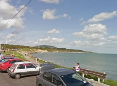 Google Maps image of the Courtown Harbour area.