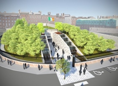 The winning design for the new memorial