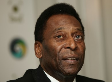 Pele (file photo).