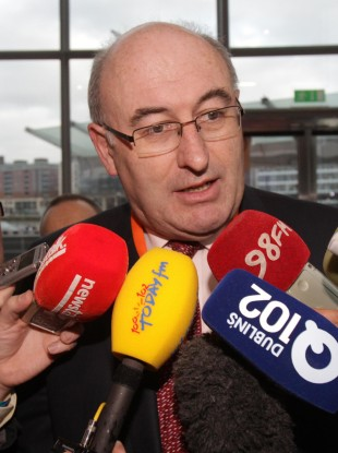 Phil Hogan has admitted his plans to reform local government in Ireland will probably mean significant cuts to the number of councils.