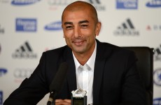 'I don't feel any shadow above me or behind me' – Di Matteo comfortable in Chelsea hot seat