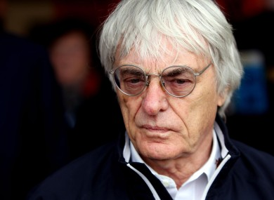 Intelligent Transport Solutions Ltd have held preliminary talks with Bernie Ecclestone.
