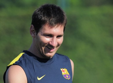 Messi has backed his Barcelona teammates to win the Ballon d'Or.