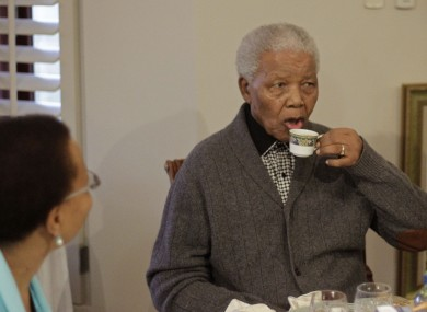 What 94-year-old wouldn't want a nice cup of tea on their birthday?