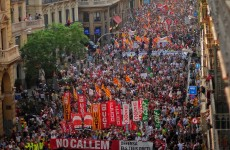 Huge protests erupt across Spain against €65bn austerity cuts