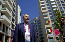 London 2012: Rogge stages minute's silence for 1972 victims