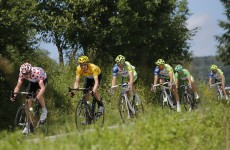 Wiggins retains yellow jersey as Olympic road race champion crashes out of Tour de France
