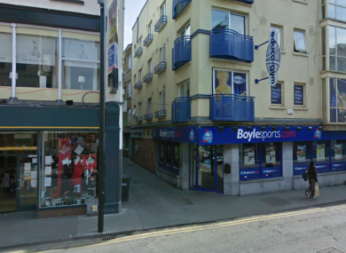 The junction of Bessexwell Lane and Shop Street in Drogheda, where the deceased man was involved in an altercation last Thursday.