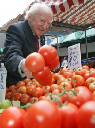 The price of tomatoes?