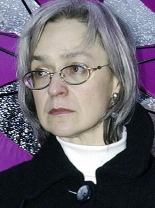 Oct. 2004 file photo reporter Anna Politkovskaya