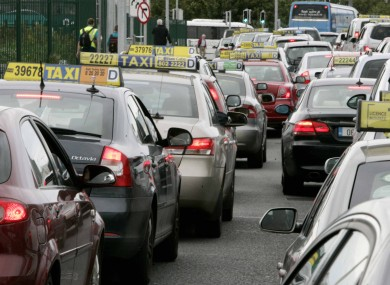 Taxi services resume at Dublin