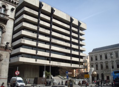 The Central Bank of Ireland in Dublin