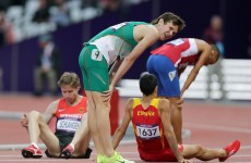 Olympic hopes over for Ciaran O'Lionaird and Fionnuala Britton
