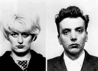 Myra Hindley and Ian Brady in the 1960s