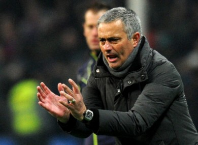 Jose Mourinho: clean slate.