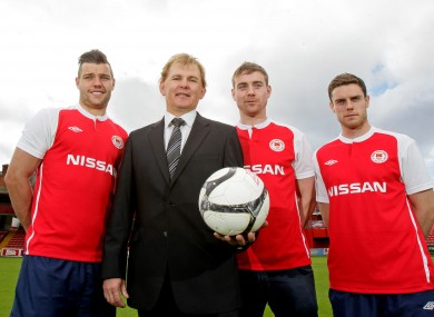James Chambers, Liam Buckley, Vinny Flatherty and John Russell.