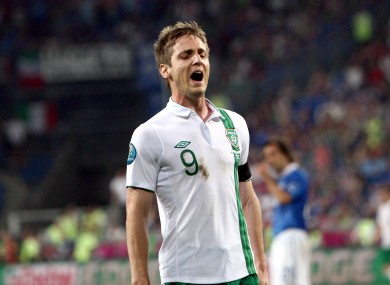 Kevin Doyle will not travel to Belgrade with Ireland.