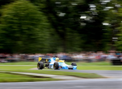 Noel Roddy during the Phoenix Park Motor Races in Dublin.