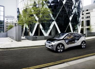 The BMW i3 Concept