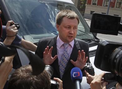Russian gay activist Nikolai Alexeyev