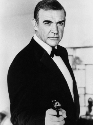 Sean Connery starred in the first James Bond film 'Dr No' in 1962