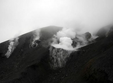 Tongariro volcano