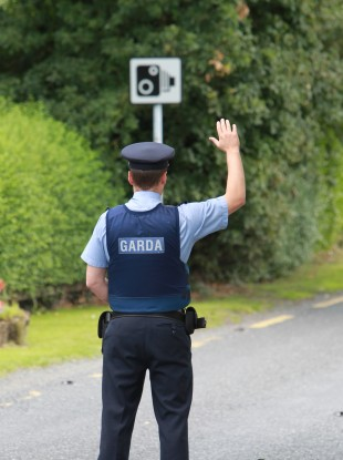 File photo of a Garda
