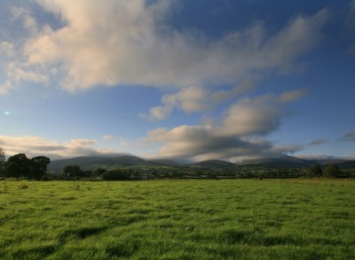 A spell of fine weather in the Galty mountains, Co Tipperary.