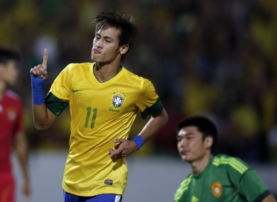 Neymar chipped in with three goals.