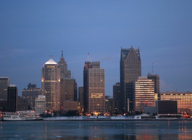 Police numbers in Detroit have suffered as authorities try to close a budget deficit.