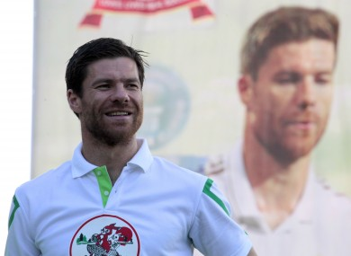 Xabi Alonso is the subject of a written tribute from Alex Hess.