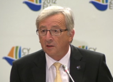 Jean-Claude Juncker said Ireland's bailout terms could be improved after a deal on its promissory notes has been reached.