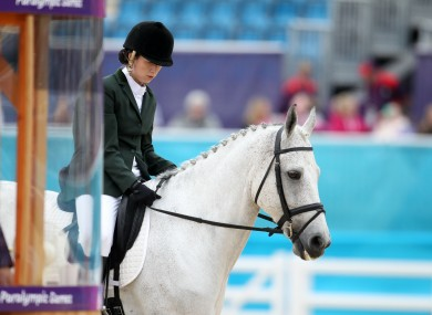 Kearney won a silver medal on Day 4 of the Paralympics.