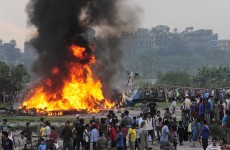 19 die as plane hits bird and crashes in Nepal