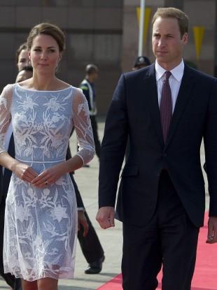 The Duke and Duchess of Cambridge depart from Kuala Lumpur Airport to travel to Kota Kinabalu, Sabah,