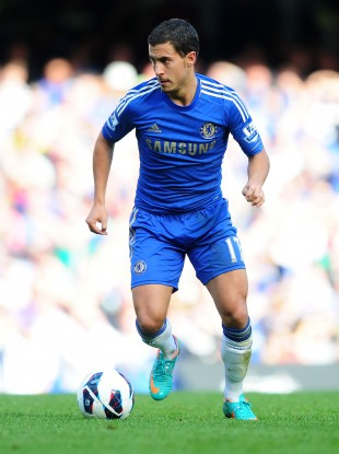 Chelsea's Eden Hazard will look to continue his fine start to the season.