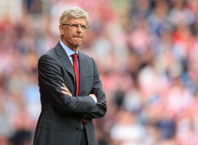 Wenger believes there is no need to rush talks over a new contract.
